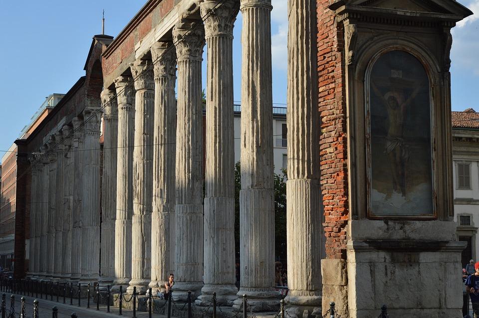 Architecture, Travel, Antique, No Person, Milan