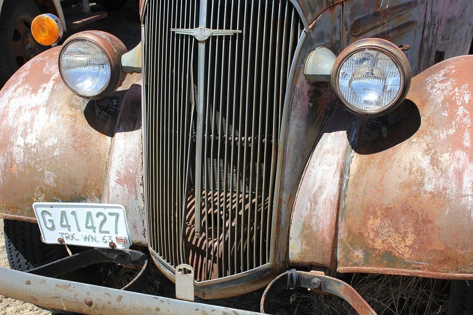 Antique, Truck, Auto, Vintage, Transportation, Rusty