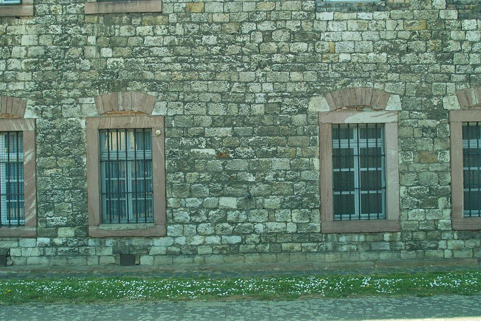 Background, Stone Wall, Greywacke, Antique, Roman