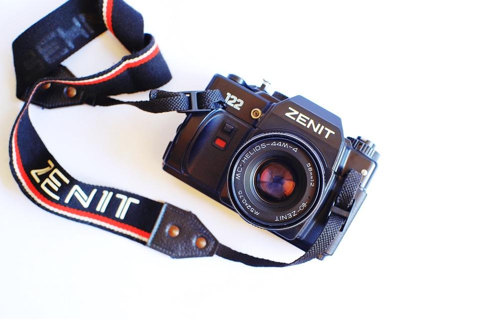 Camera, Classic, Vintage, Old, Retro, Antique, Lens
