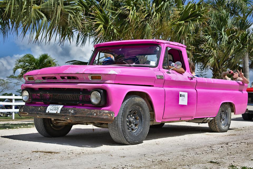 Free photo Antique Country Boys Pickup Truck Pickup Vintage - Max Pixel