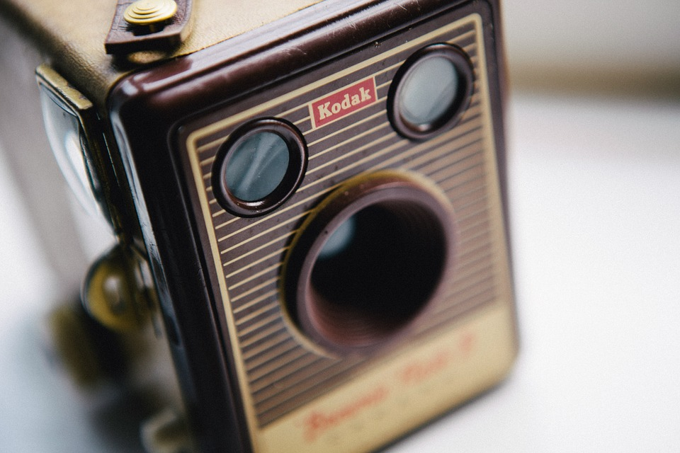 Vintage, Retro, Camera, Kodak, Film, Antique, Style