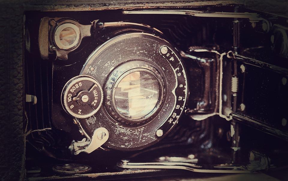 Camera, Old, Antique, Inner Workings, Vintage