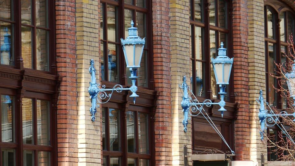 Antique, Lamp, Retro