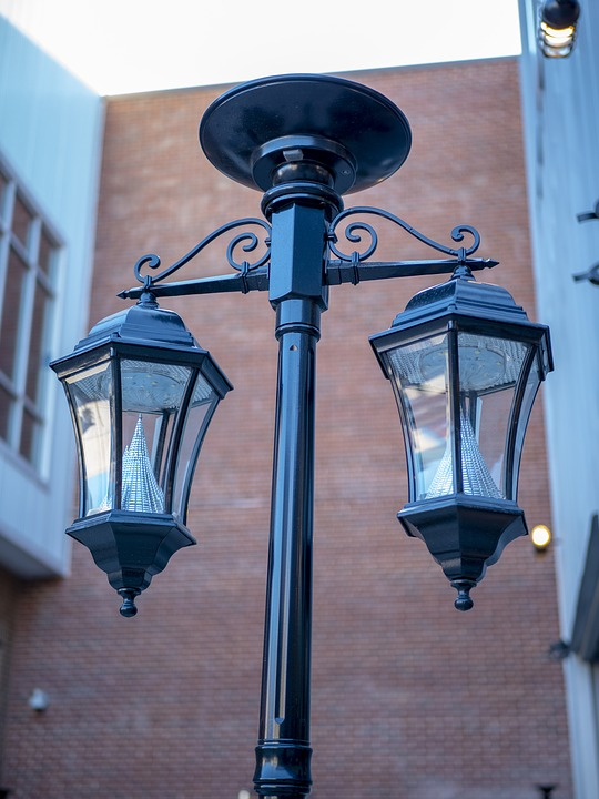 Lamppost, Lamp, Street, Antique, Outdoor, Electricity