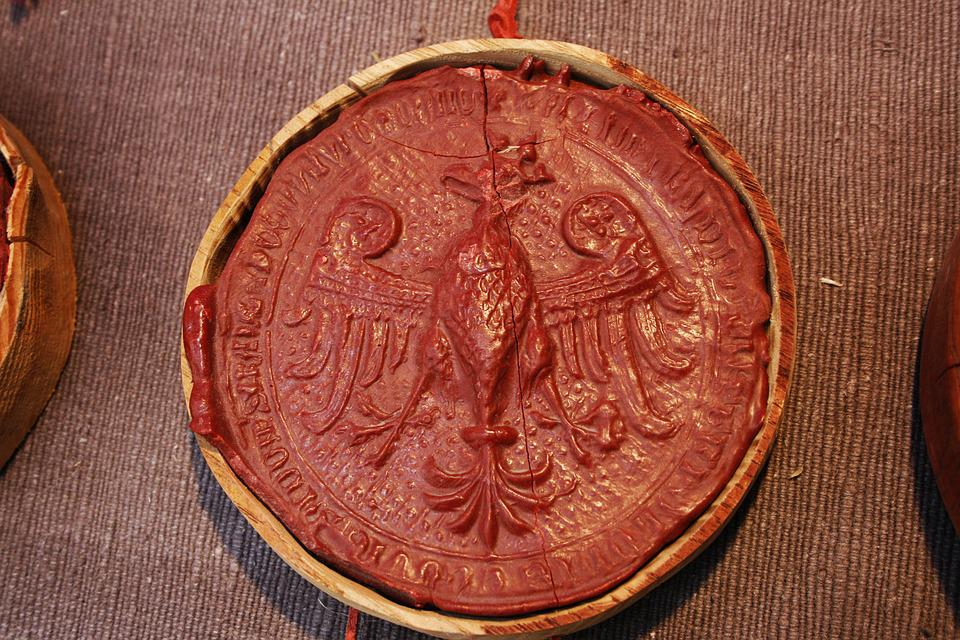 No One, Old, Antique, Seal, Lacquer, Lakowa, Historic