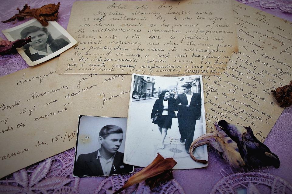 Old Photos, Paper, Document, Nostalgia, Antique, Retro