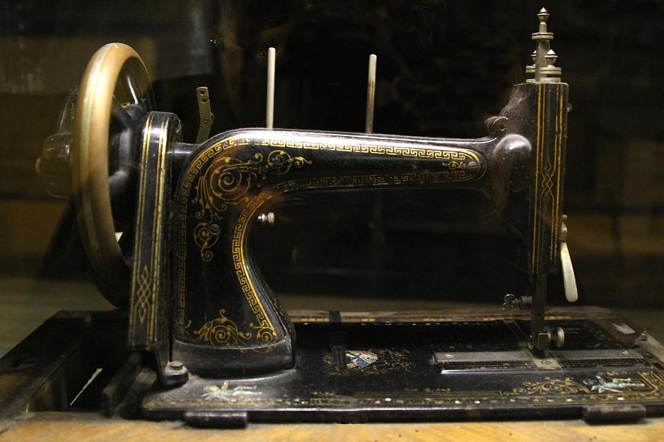 Old-fashioned, Sewing, Antique