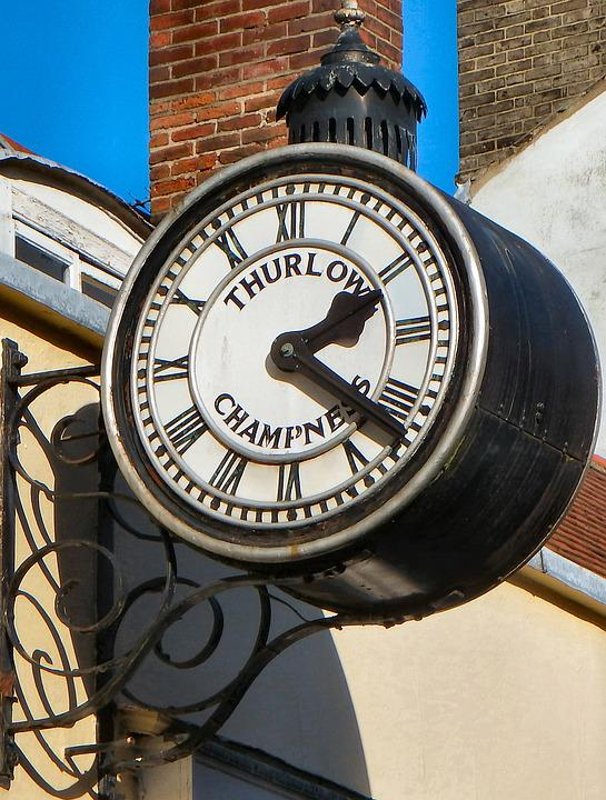 Old Clock, Clock, Time, Old, Retro, Antique, Hour