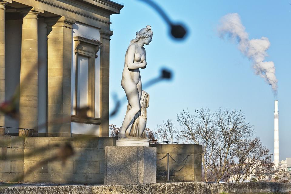 Sculpture, Antique, Industry, Already Stone, Park
