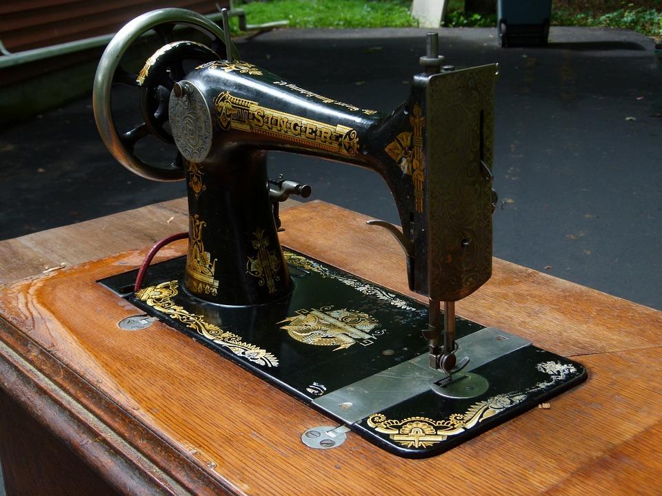 Sewing Machine, Sewing, Machine, Antique, Vintage, 1890