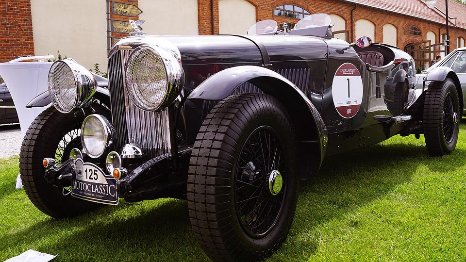 Bentley, Sports, Old, Antique, Convertible