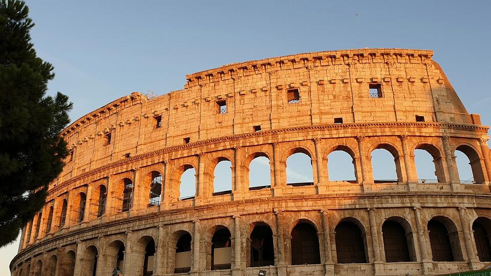 Rome, Coliseum, Italy, Travel, Antique, Old, Italian
