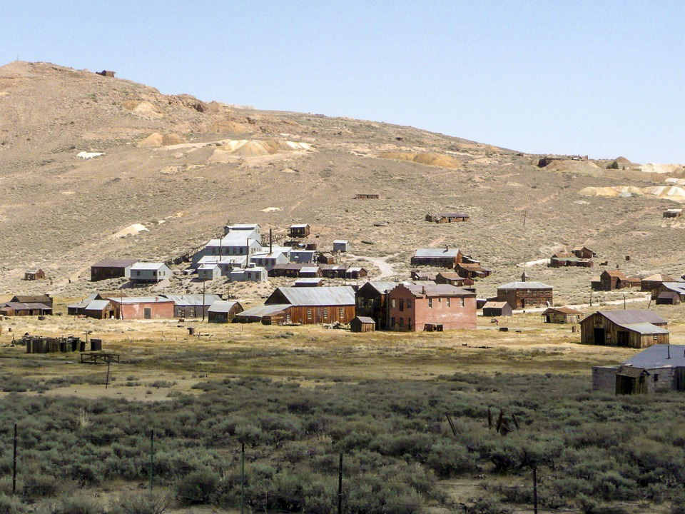 Bodie, California, Usa, Heritage, Buildings, Antique