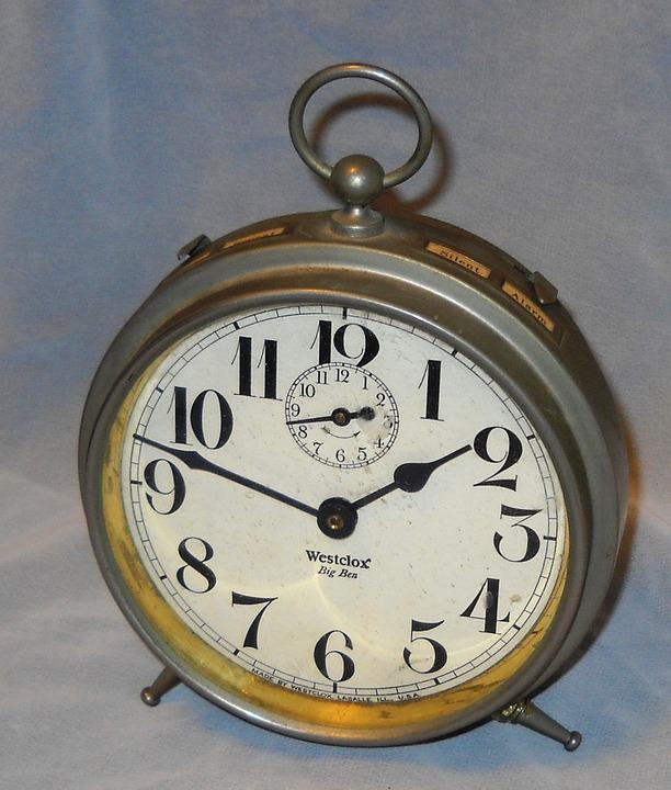 alarm clock big ben vintage antique alarm time