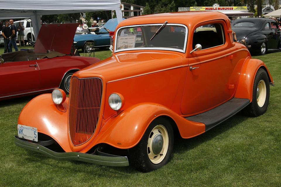 Hot Rod, Classic Car, Antique, Vintage, Automobile, Old