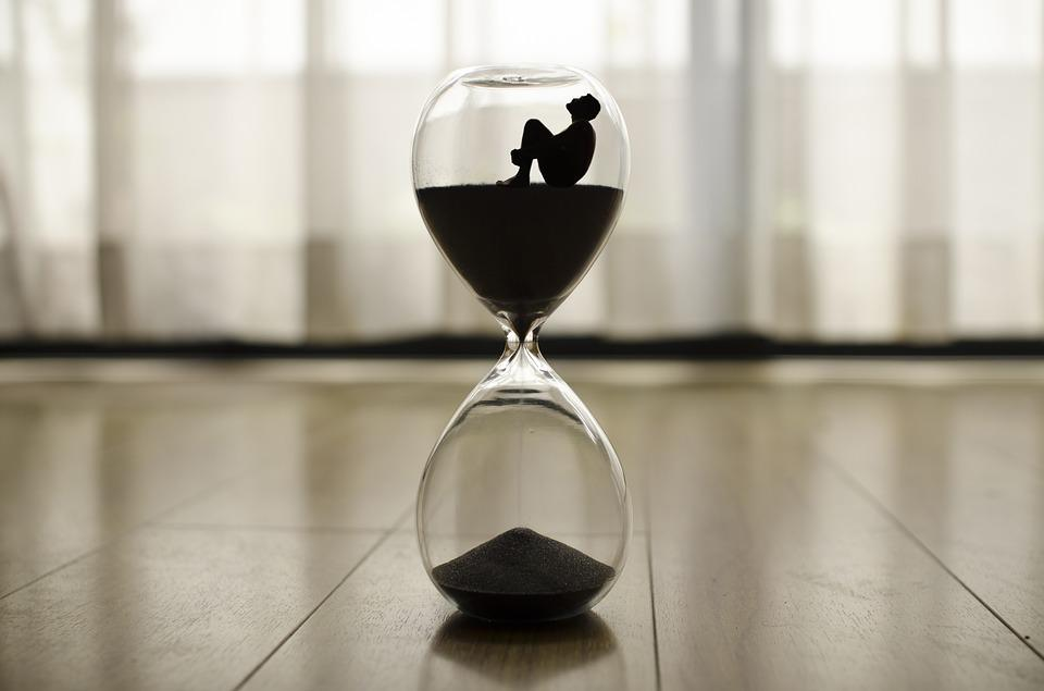 Time, Clock, Hour, Minutes, Hourglass, Antique Watch