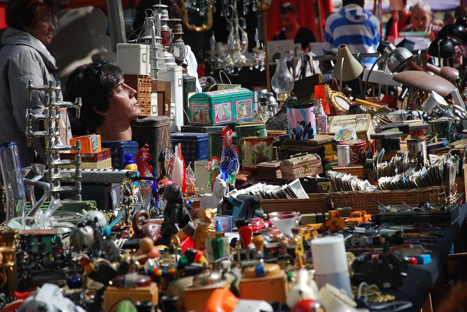 Flea Market, Browse, Stand, Market, Antiques