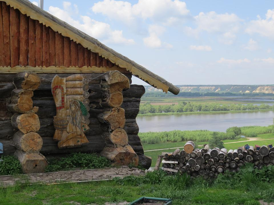 Antiquity, Village, Museum, Abalak, Landscape, Wood