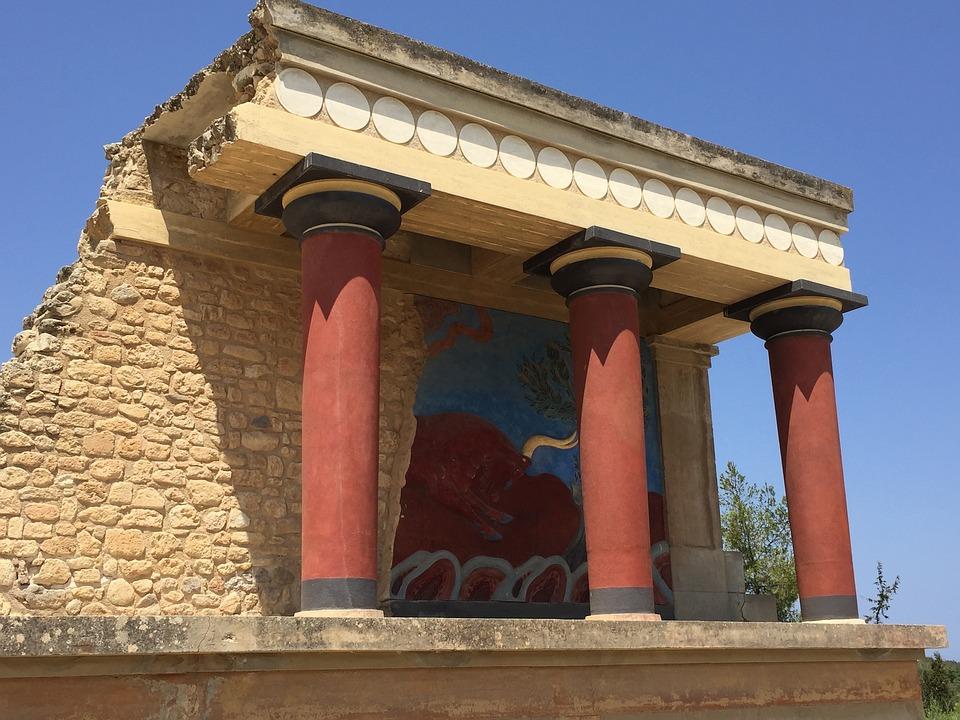 Crete, Antiquity, Greece, Excavation