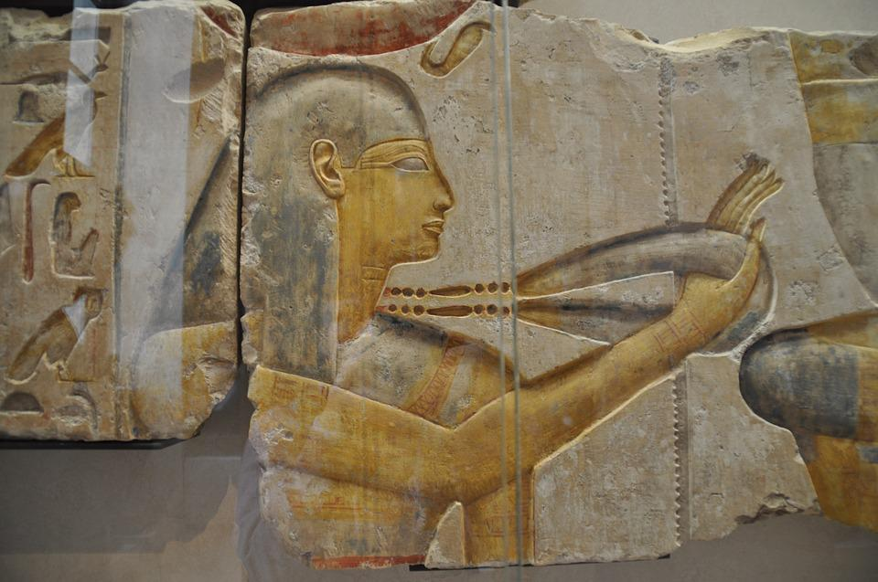 Bas Relief, Egypt, Antiquity, Of, Louvre