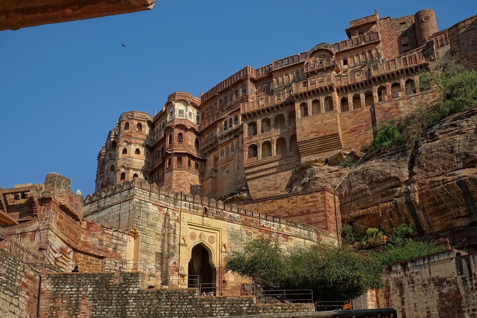 Jodhpur, India, Architecture, Old, Travel, Antiquity