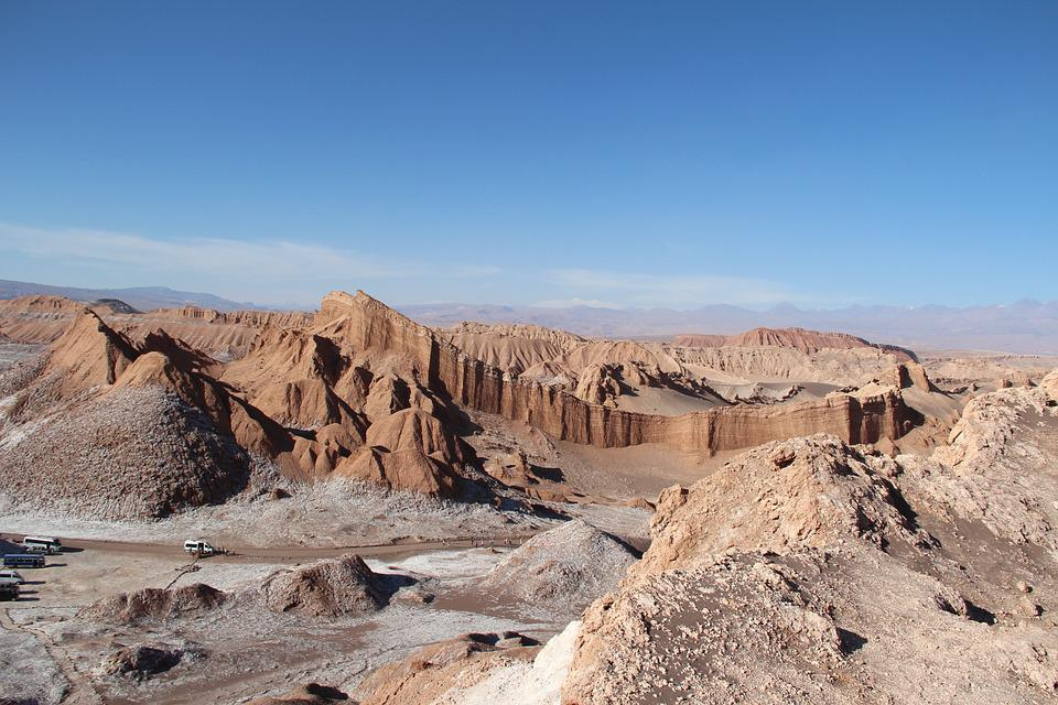 Valley Of The Moon, San Pedro De Atacama, Antofagasta
