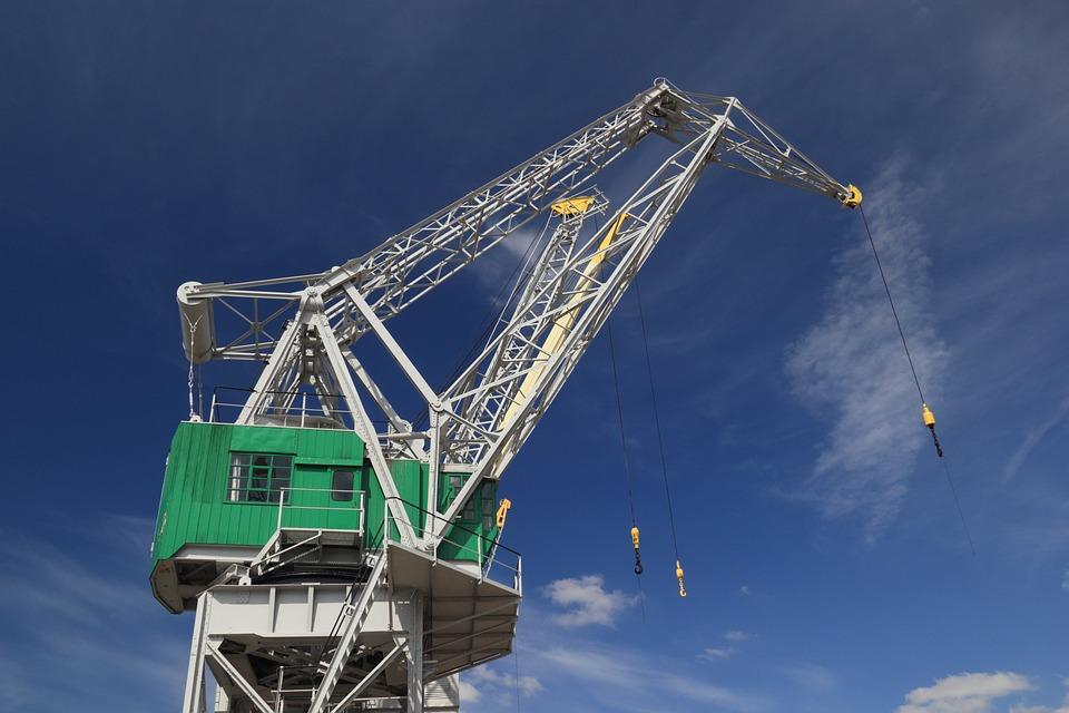Belgium, Antwerp, Harbour, Crane, Industrial, Heritage