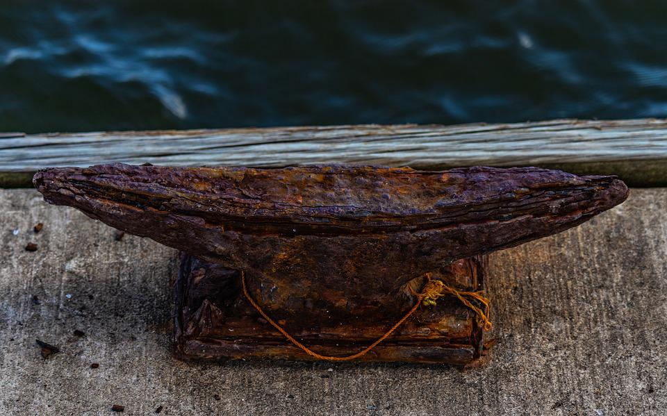 Dock Cleat, Anvil, Rust, Weathered, Antique, Old, Metal