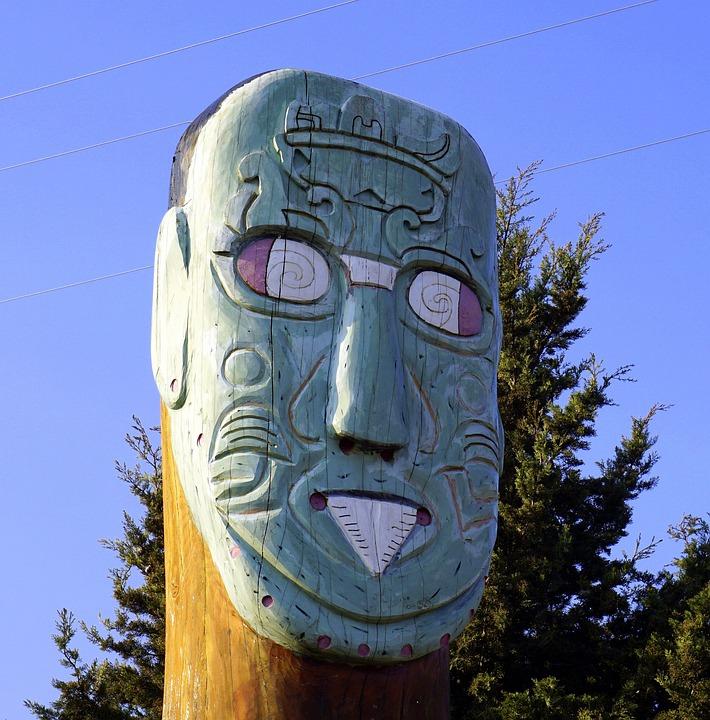 Totem, Apache, Indians, Ancient Civilizations, Wood