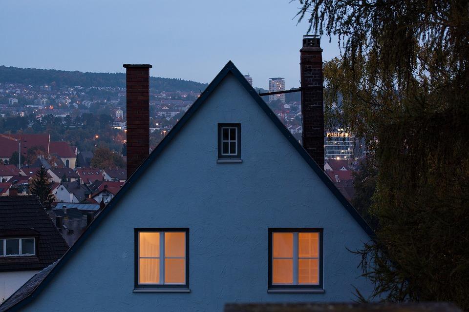 Dawn, Home, 2 Window, Apartment, Enlightened, Light