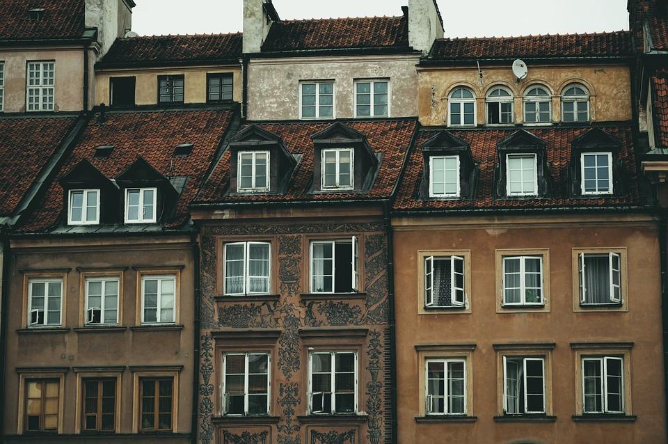 Apartment Architecture Brick Building Buildings