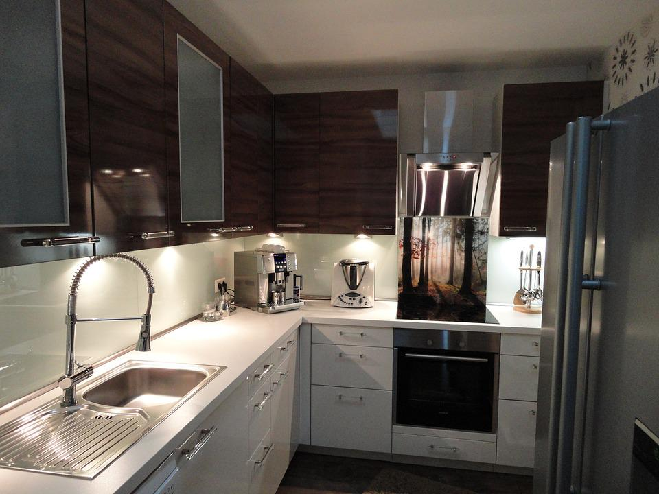 Kitchen, Apartment, Cabinet, Real Estate, Live
