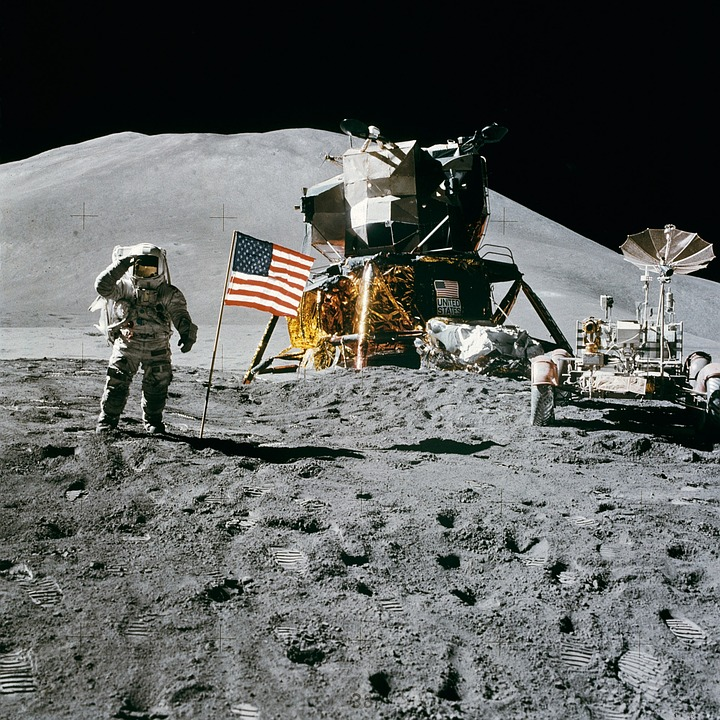 Space Station, Moon Landing, Apollo 15, James Irwin
