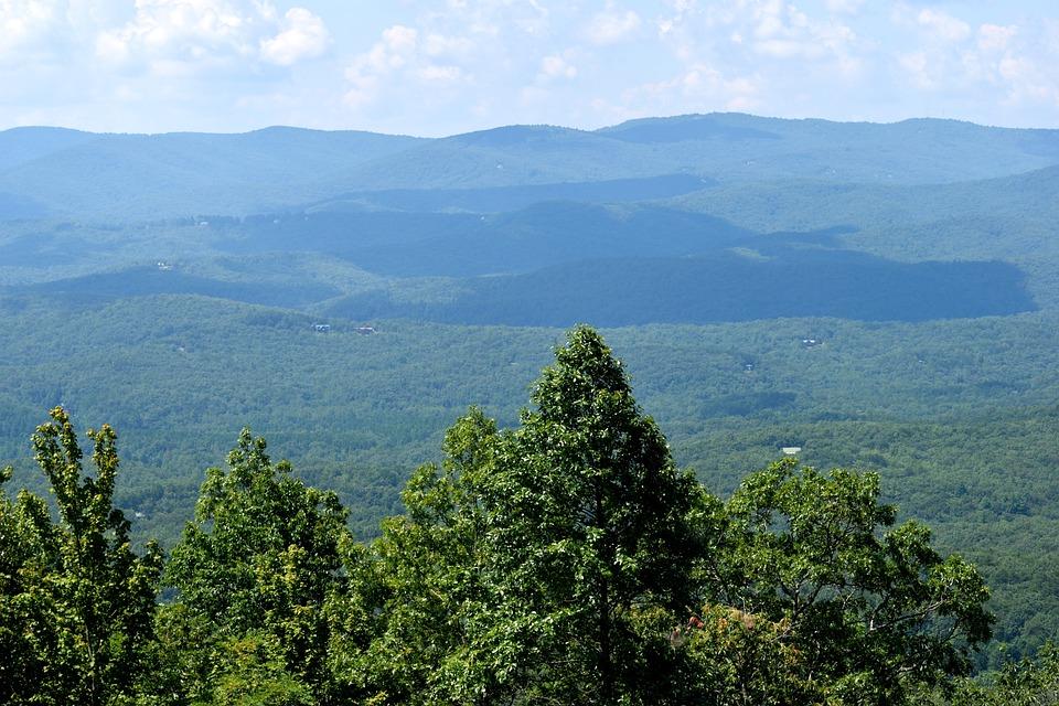 Appalachian Mountains, Dahlonega, Georgia, Mountain