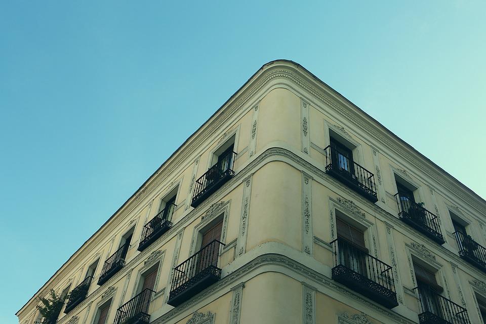 Bruges, Appartements, City, Building, House, Grunge