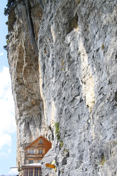 äscher Cliff Restaurant, Restaurant, Ebenalp, Appenzell