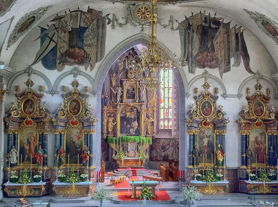 St Martin, Appenzell, Switzerland, Church, Building