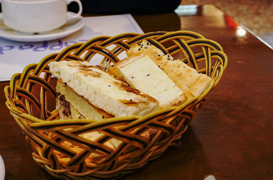 Bread, Ekmek, Snack, Basket, Appetizer, Turkish Food