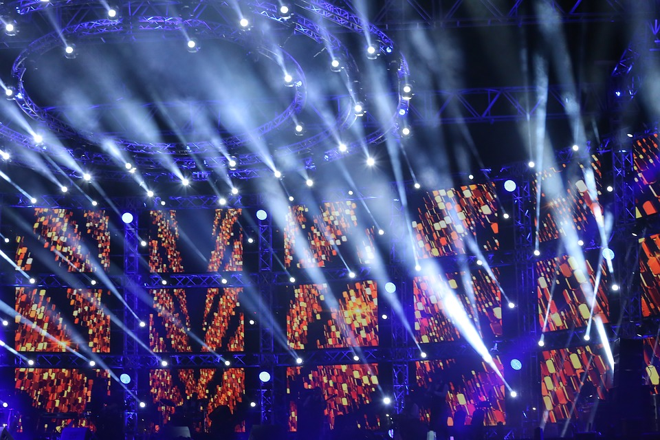 Stage Light, Applauding, Atmosphere, Audience