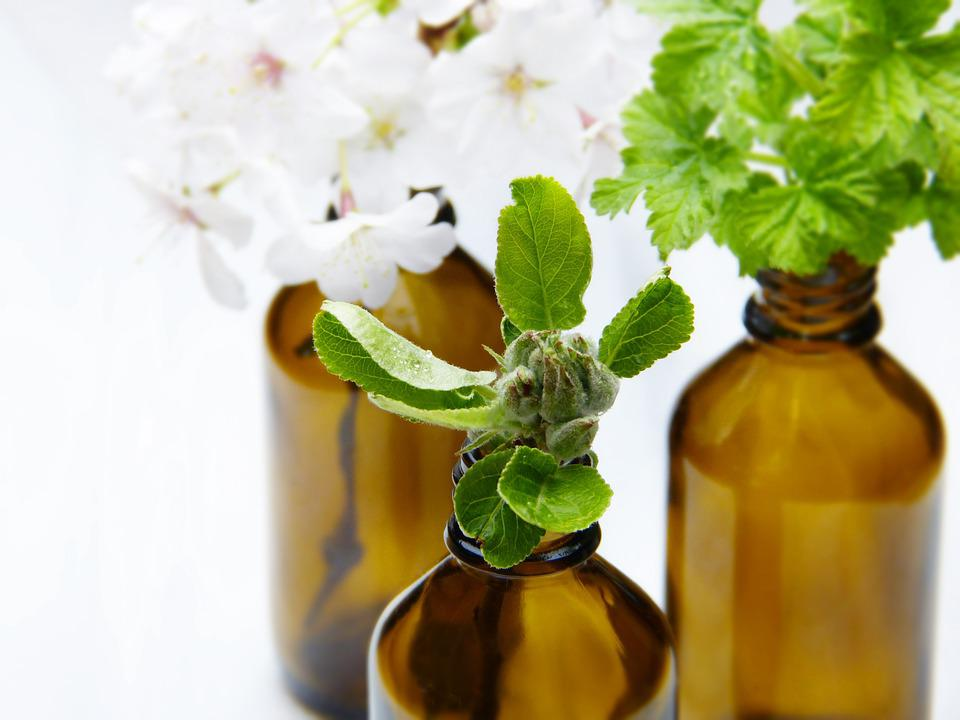 Glass, Bottles, Vial, Apple Blossom, Pharmacy Vial