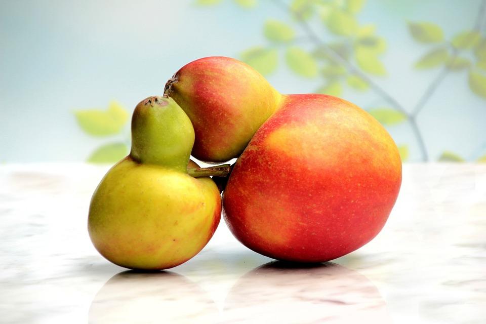Fruit, Apple, Apple Couple, Gene Defect