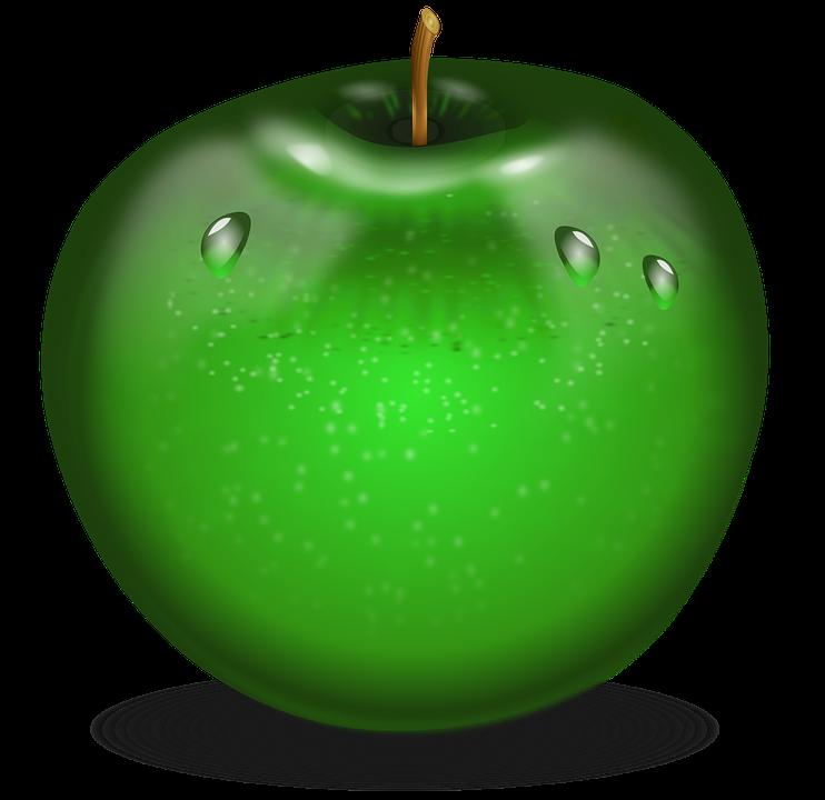 Apple, Food, Fruits, Green Food, Green Apple