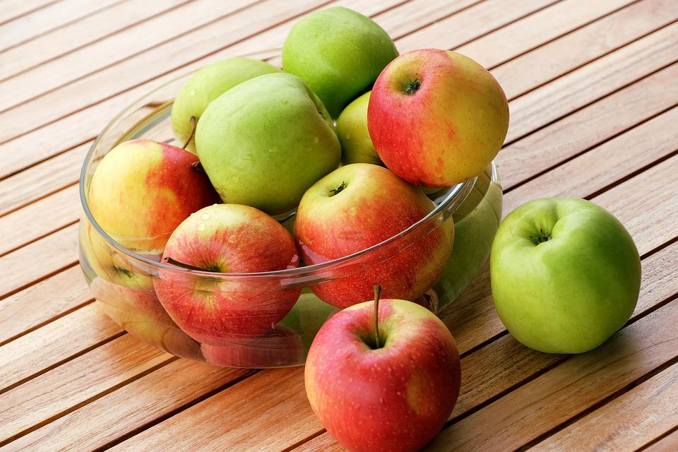Apple, Bowl, Fresh, Fruits, Harvest, Products, Bio