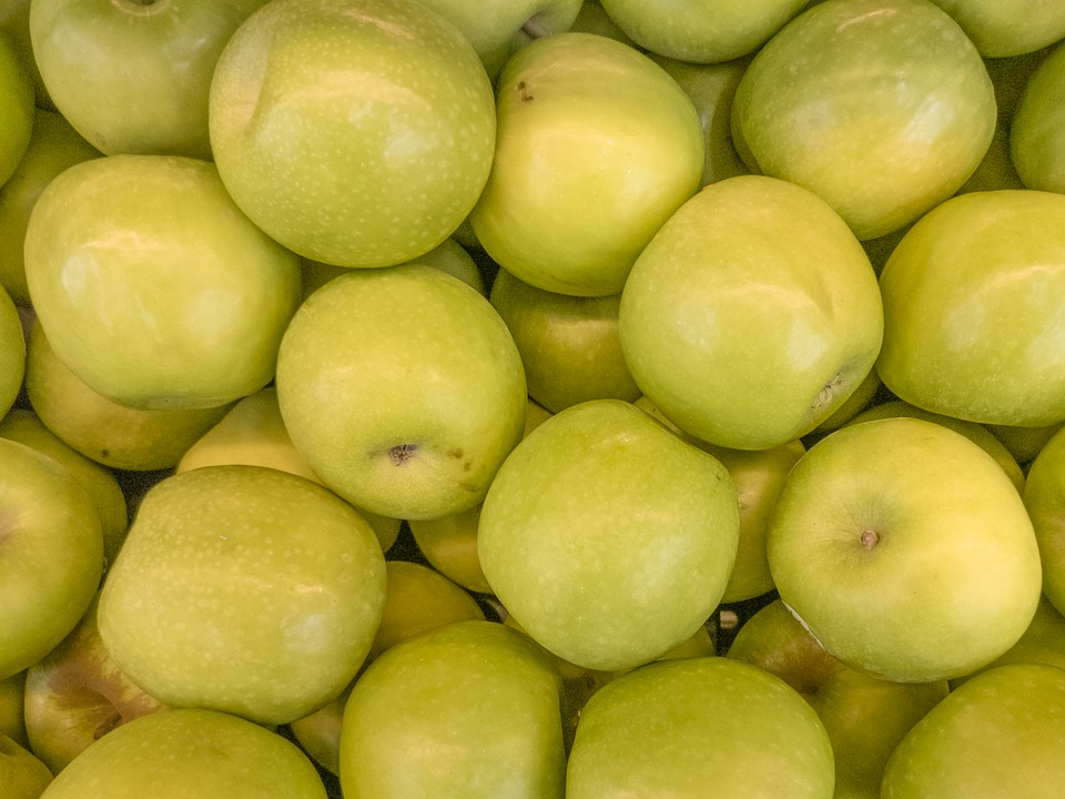 Apple, Green, Plants, Fruits, Vegetable, Yellow Apple