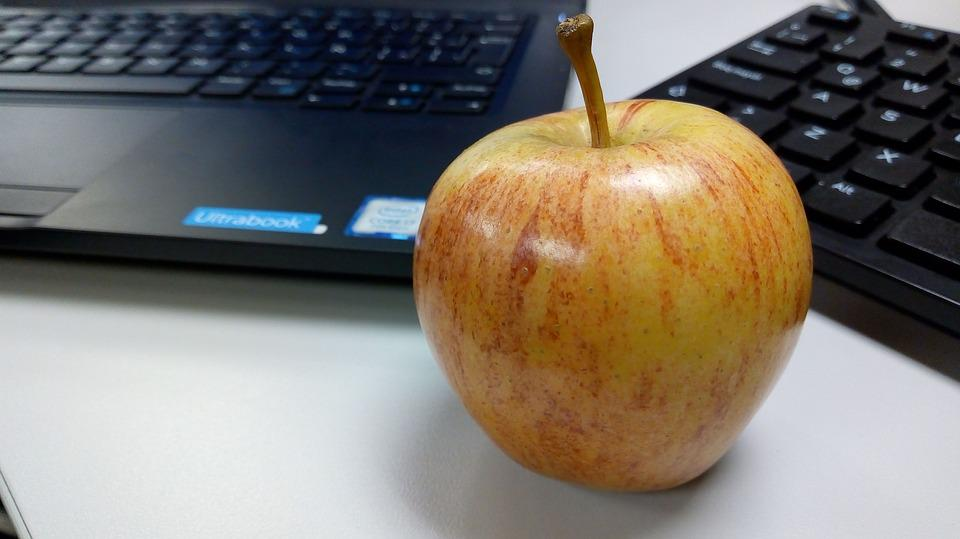 Apple, Computer, Fruit, Red, Healthy, Fresh, Mature