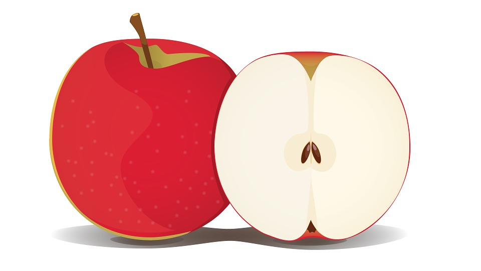 Apple, Fruit, Red, Healthy