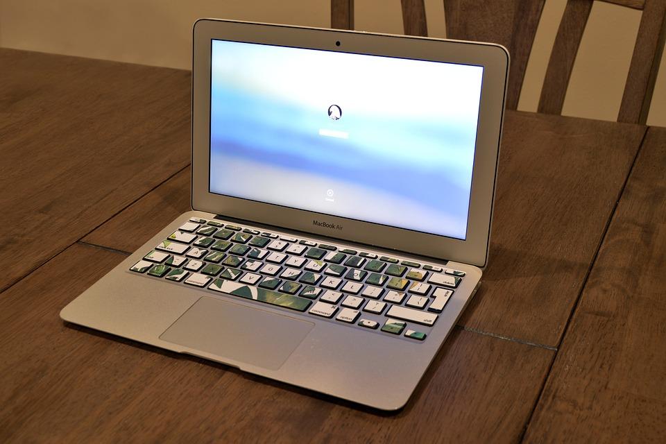 Computer, Laptop, Login, Log On, Log In, Osx, Apple