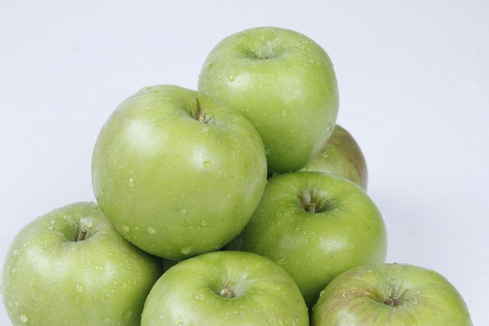Apple, Oriole, Tsugaru, Oriole Apples, Green Apple