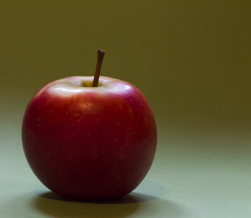 Apple, Red, Fruit, Frisch, Vitamins, Food, Bless You